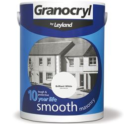 Buy 2 for £32 on Granocryl Smooth Masonry Paint 5L Ready Mixed