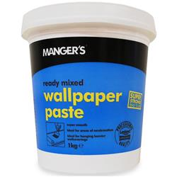 Mangers Wallpaper Adhesive Ready Mixed 1kg