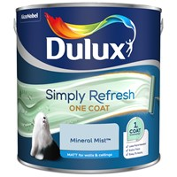 Buy 2 for £59 on Dulux Simply Refresh One Coat Matt
