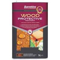 Buy 2 for £49 on Barrettine Wood Protective Treatment 5L Ready Mixed Clear